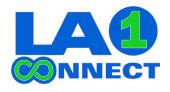LA1CONNECT logo