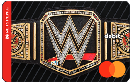 Netspend Prepaid Mastercard, now a WWE partner