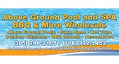 Above Ground Pool And Spa BBQ And More Wholesale