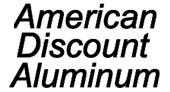 American Discount Aluminum logo