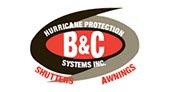 B&C Shutters & Awnings logo