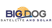Big Dog Satellite and Solar logo