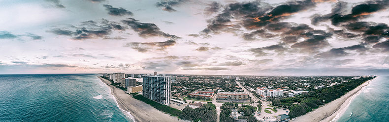 boca raton skyline