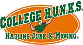 College H.U.N.K.S. Hauling Junk & Moving logo