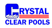 Crystal Clear Pools logo