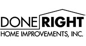 Done Right Home Improvements logo