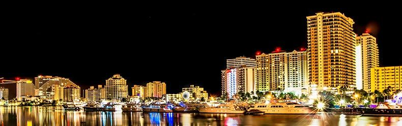 fort lauderdale skyline