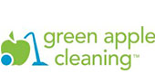 Green Apple Cleaning logo