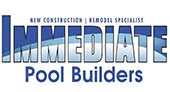Immediate Pool Builders logo