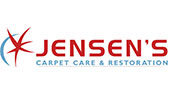 Jensen's Carpet Care & Restoration logo