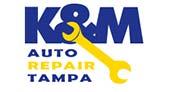 K&M Auto Repair logo