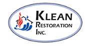 Klean Restoration logo