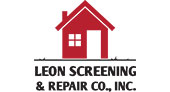 Leon Screening & Repairs logo