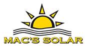 Mac's Solar logo