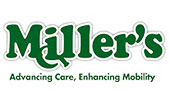 Miller's Rental and Sales logo