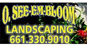 O. See-Em-Bloom Landscaping logo