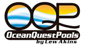 Ocean Quest Pools by Lew Akins logo