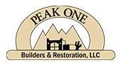 Peak One Builders logo