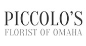 Piccolo's Florist logo