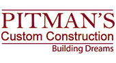 Pitman's Custom Construction logo
