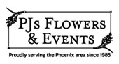 PJ's Flowers & Events logo