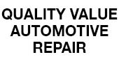 Quality Value Automotive Repair logo