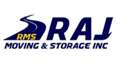RAJ Moving & Storage logo