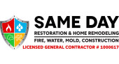 Same Day Restoration & Home Remodeling logo