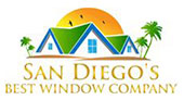 San Diego's Best Window Company logo