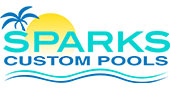 Sparks Custom Pools logo