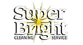 Super Bright Cleaning Service logo