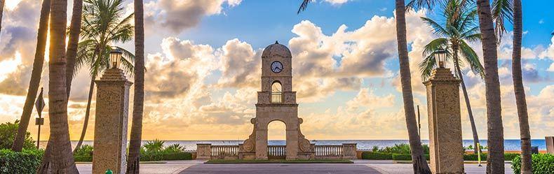west palm beach skyline