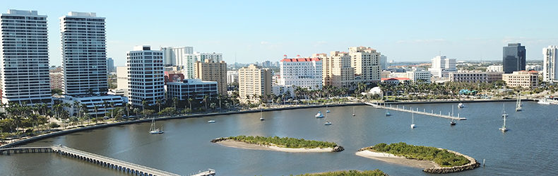 west palm beah skyline